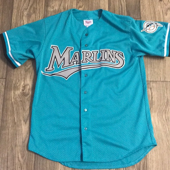 the latest 62b60 a2663 Florida Marlins retro baseball jersey (authentic)
